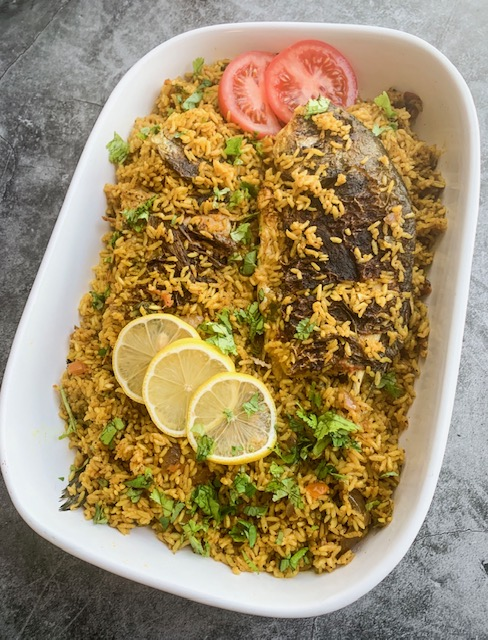 Arabic Fish Majboos Kabsa Foodie Suz Recipes